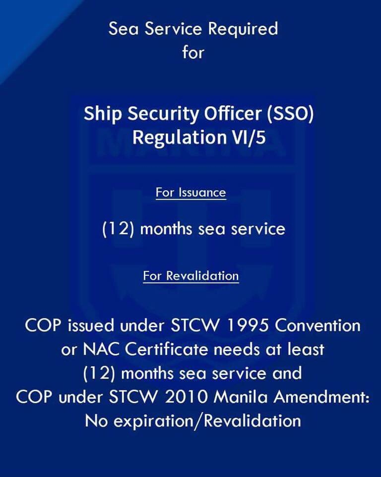Marina Releases Official Sea Service Requirements The Ofw Times